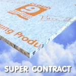 CLOUD 9 SUPER CONTRACT 10mm Carpet Underlay