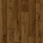 CUSHIONAIR Cushioned Vinyl Flooring - Dark Oak Plank