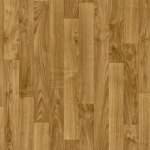 CUSHIONAIR Cushioned Vinyl Flooring - Medium Oak Plank