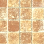 CUSHIONAIR Cushioned Vinyl Flooring - Terracotta Square