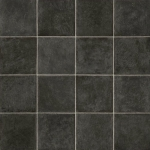 CUSHIONAIR Cushioned Vinyl Flooring - Graphite Square Tile
