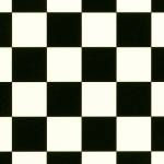 CUSHIONAIR Designer Vinyl Flooring - Chess Black & White