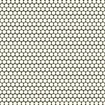CUSHIONAIR Designer Vinyl Flooring - Circles Black & White