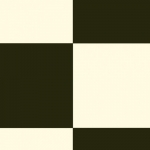 CUSHIONAIR Designer Vinyl Flooring - Finsbury Black & White