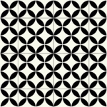 CUSHIONAIR Designer Vinyl Flooring - Portofino Black & White