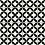 CUSHIONAIR Designer Vinyl Flooring - Portofino Black & White
