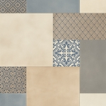 CUSHIONAIR Designer Vinyl Flooring - Victoriana Steel