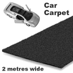 Car Carpet in Black