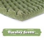 DURALAY GREEN Sponge Rubber Carpet Underlay