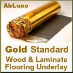 GOLD STANDARD Laminate & Wood Floor Underlay