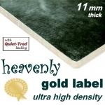 HEAVENLY GOLD Ultra High Density 11mm Carpet Underlay