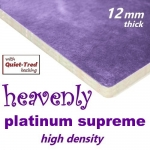 HEAVENLY PLATINUM SUPREME High Density 12mm Carpet Underlay