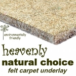 NATURAL CHOICE Felt Carpet Underlay