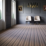 PICARDY All Wool Stripe + FREE UNDERLAY