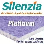 SILENZIA PLATINUM 12mm High Density Carpet Underlay