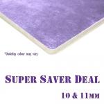 *10 & 11mm thick CARPET UNDERLAY Super Saver Deal