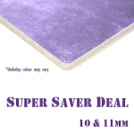 *10 & 11mm thick CARPET UNDERLAY Super Saver Deal
