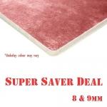 *8mm & 9mm thick CARPET UNDERLAY Super Saver Deal